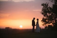 Sarah and Joseph Outer Banks Wedding Photographer Sunset Favorit